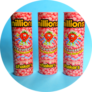 MILLIONS SHAKERS STRAWBERRY