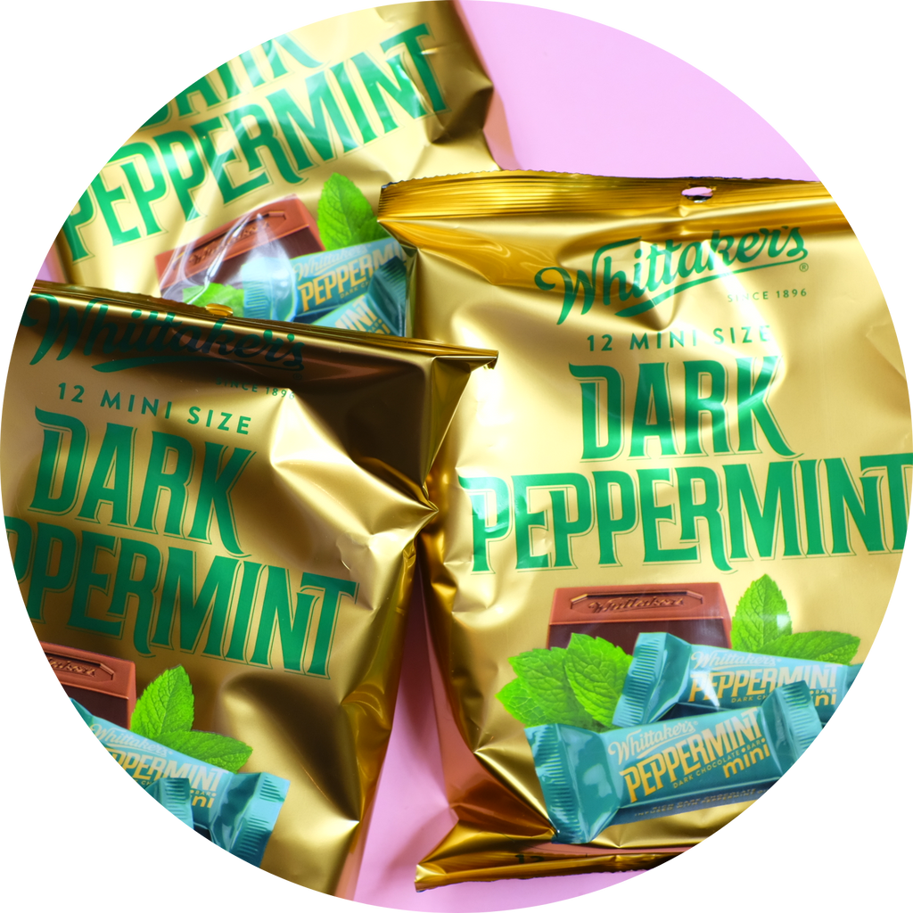 WHITTAKERS PEPPERMINT MINI SLABS 180g