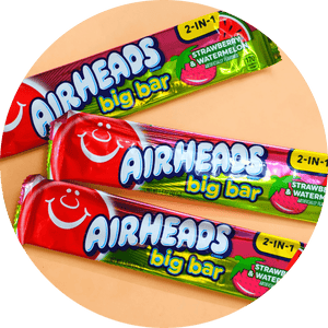 AIRHEADS STRAWBERRY & WATERMELON BIG BAR