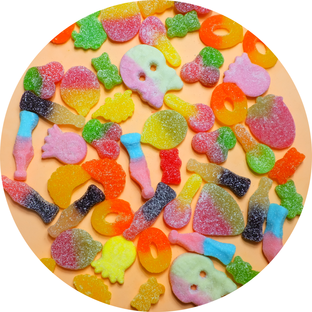 MIXED FIZZY LOLLIES 300g