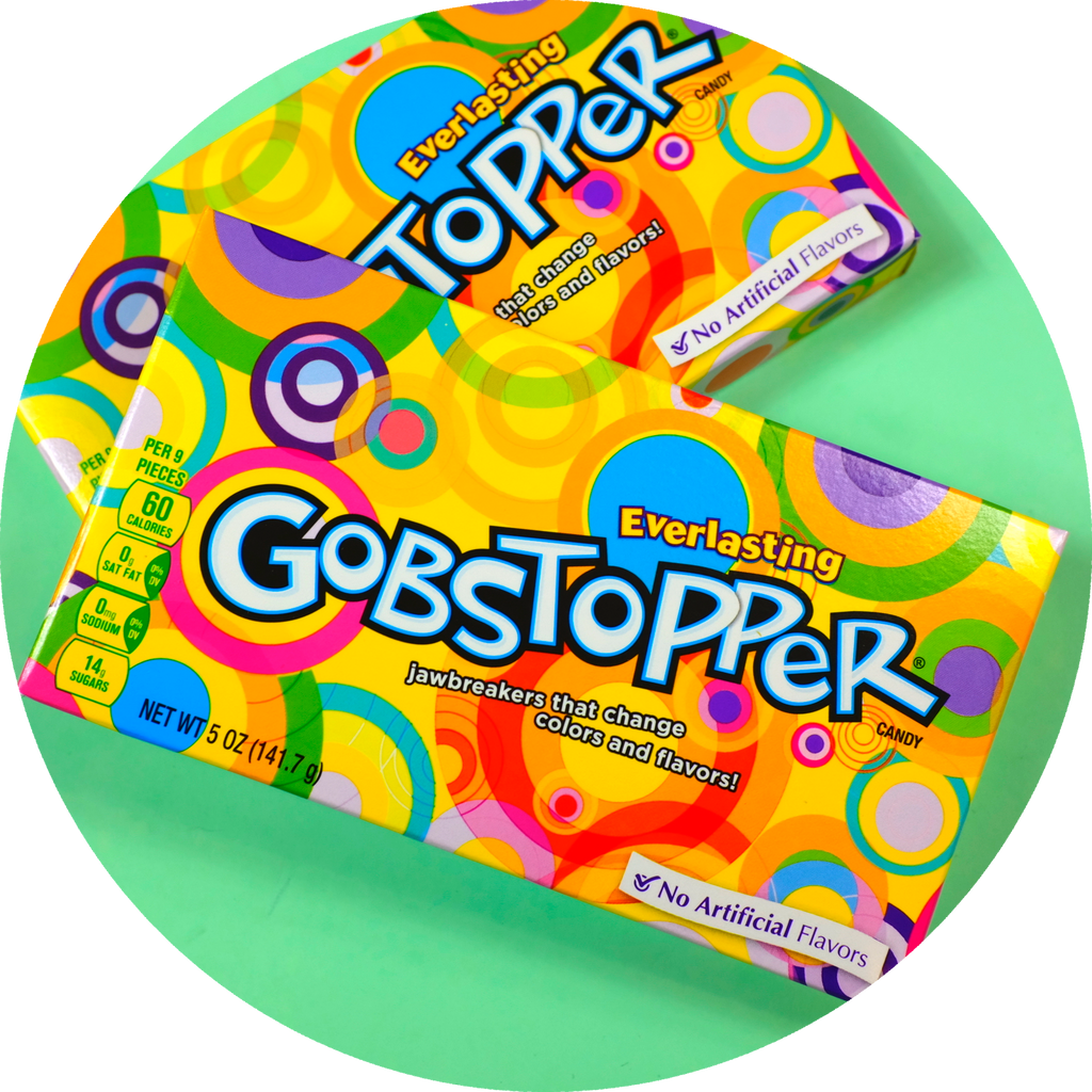 EVERLASTING GOBSTOPPER MOVIE BOX