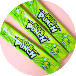 APPLE SOUR PUNCH STRAWS