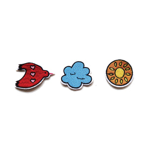Pre-Order Cloud Sticker Patches