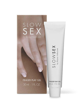 BIJOUX INDISCRETS - SLOW SEX FINGER PLAY GEL 30ml Cocco