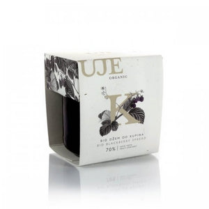 UJE Organic  Blackberry spread
