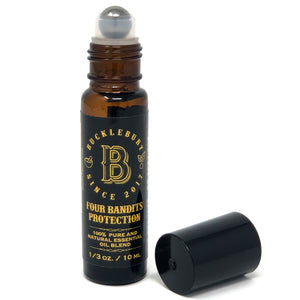 Bucklebury Essential Oil Roller Bottle - Four Bandits Protection 10 ml