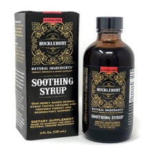 Load image into Gallery viewer, Bucklebury Soothing Syrup (Alcohol Free) 4oz