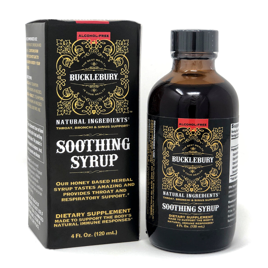 Bucklebury Soothing Syrup (Alcohol Free) 4oz