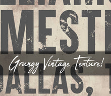 Load image into Gallery viewer, CUSTOM VINTAGE BOLD FAMILY SIGN