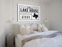 Load image into Gallery viewer, CUSTOM FARMHOUSE FAMILY PLAIN WHITE SIGN