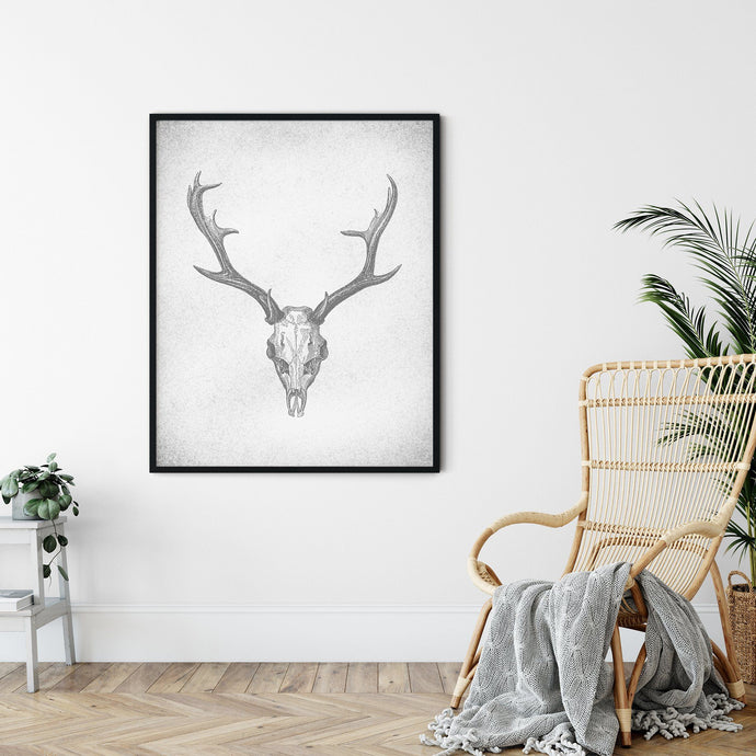 DEER SKULL POSTER (Printable!) Denver to Dallas