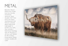 Load image into Gallery viewer, The Bull (#2) Print CUSTOM GIFT PRINTS DenverToDallas METAL 12X18