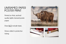 Load image into Gallery viewer, The Bull (#2) Print CUSTOM GIFT PRINTS DenverToDallas UNFRAMED PAPER POSTER PRINT 12X18