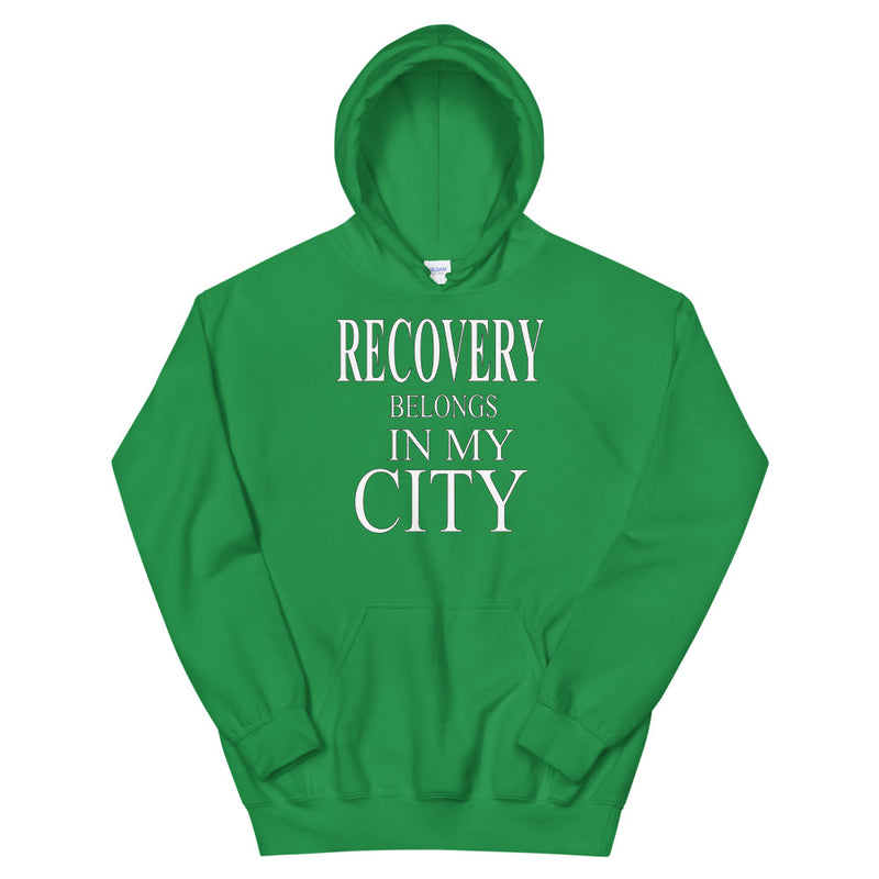RECOVERY BELONGS IN MY CITY