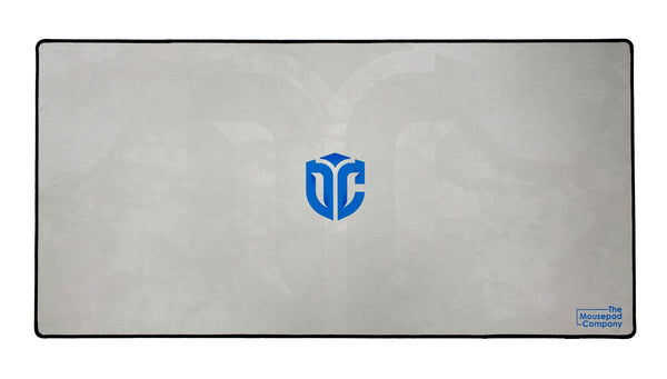 Outcast Region Team Mousepad White/Blue - The Mousepad Company