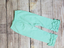 "Load image into Gallery viewer, ""Icings"" Ruffle Pants-Teal"