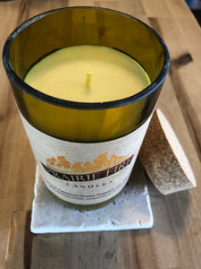 Travertine Marble Candle Coaster - Surface Protector