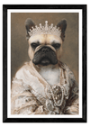 THE QUEEN - CUSTOM PET PORTRAIT portrait-my-pet.com