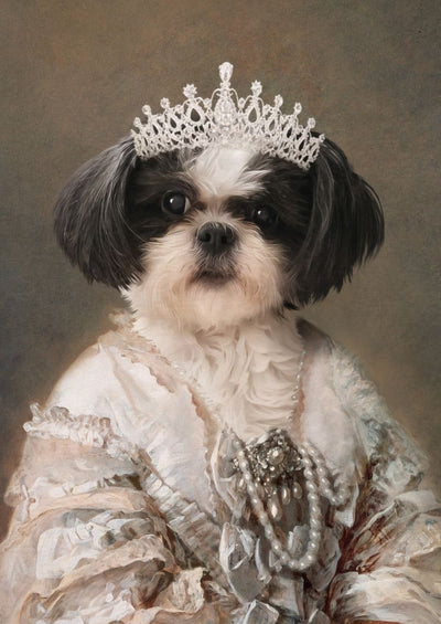 THE QUEEN - CUSTOM PET PORTRAIT