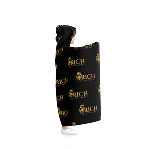 Rich University Hooded Blanket