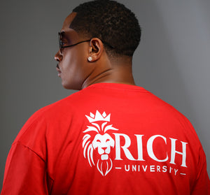 Rich U Mens Signature Tee 2.0 (Front & Back)