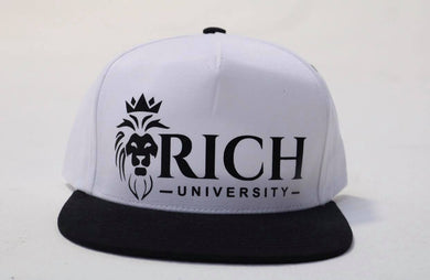 Rich University Logo Vinyl Hat