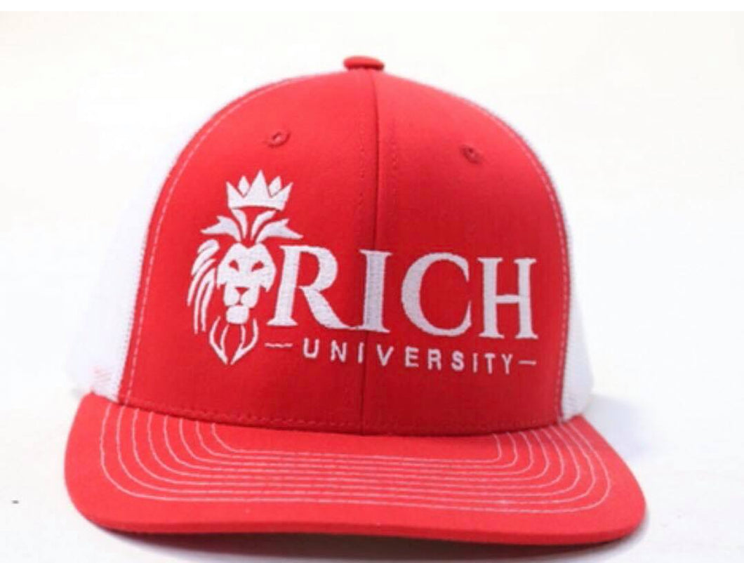 Rich University Logo Embroidered Hat