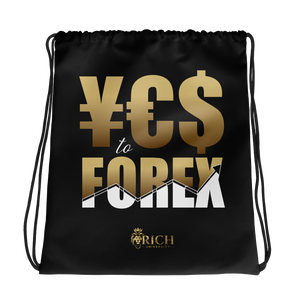 YES to FOREX Drawstring bag