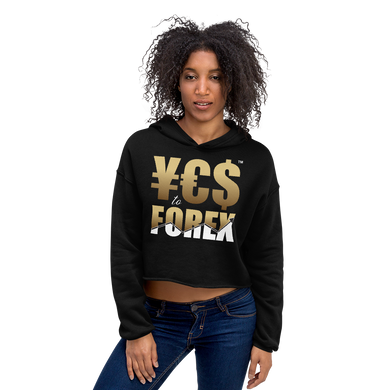 Women's Yes To Forex Crop Hoodie