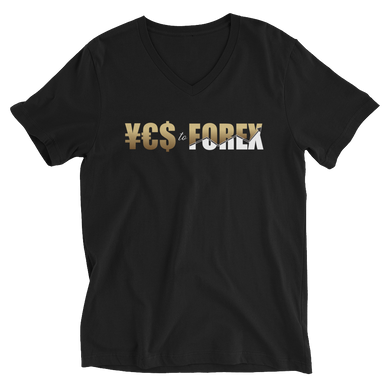 YES to FOREX Unisex V-Neck