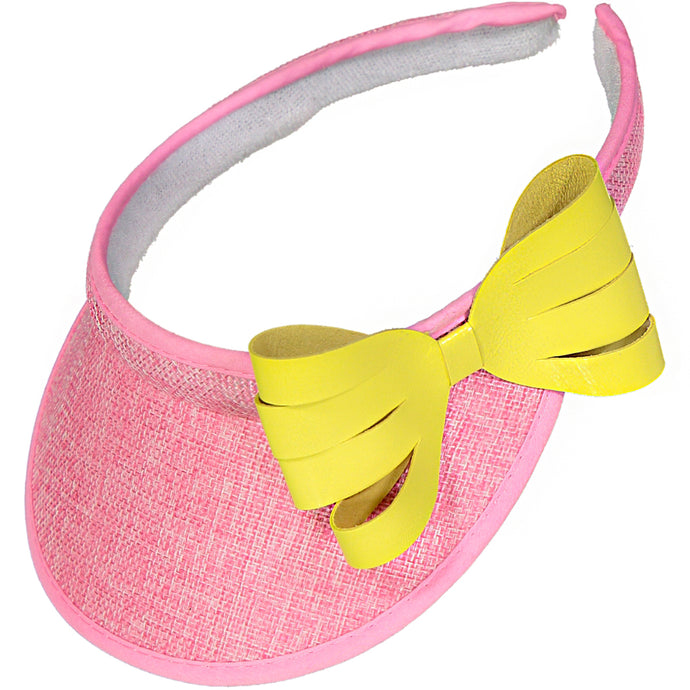 Copia del VISOR BOW - LEATHER