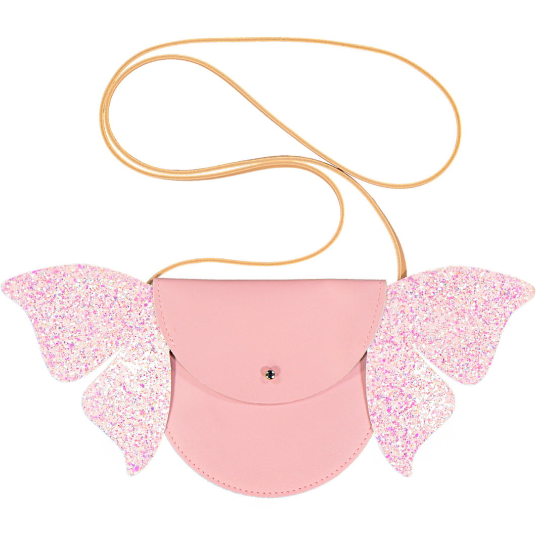 BAG FLYING BUTTERFLY - VEGAN LEATHER - LEATHER - GLITTER