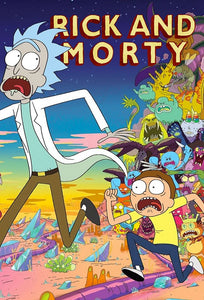 Poster Serie Rick and Morty 2