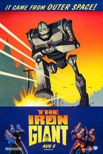 Poster Película The Iron Giant