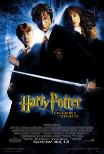 Poster Pelicula Harry Potter and the Chamber of Secrets