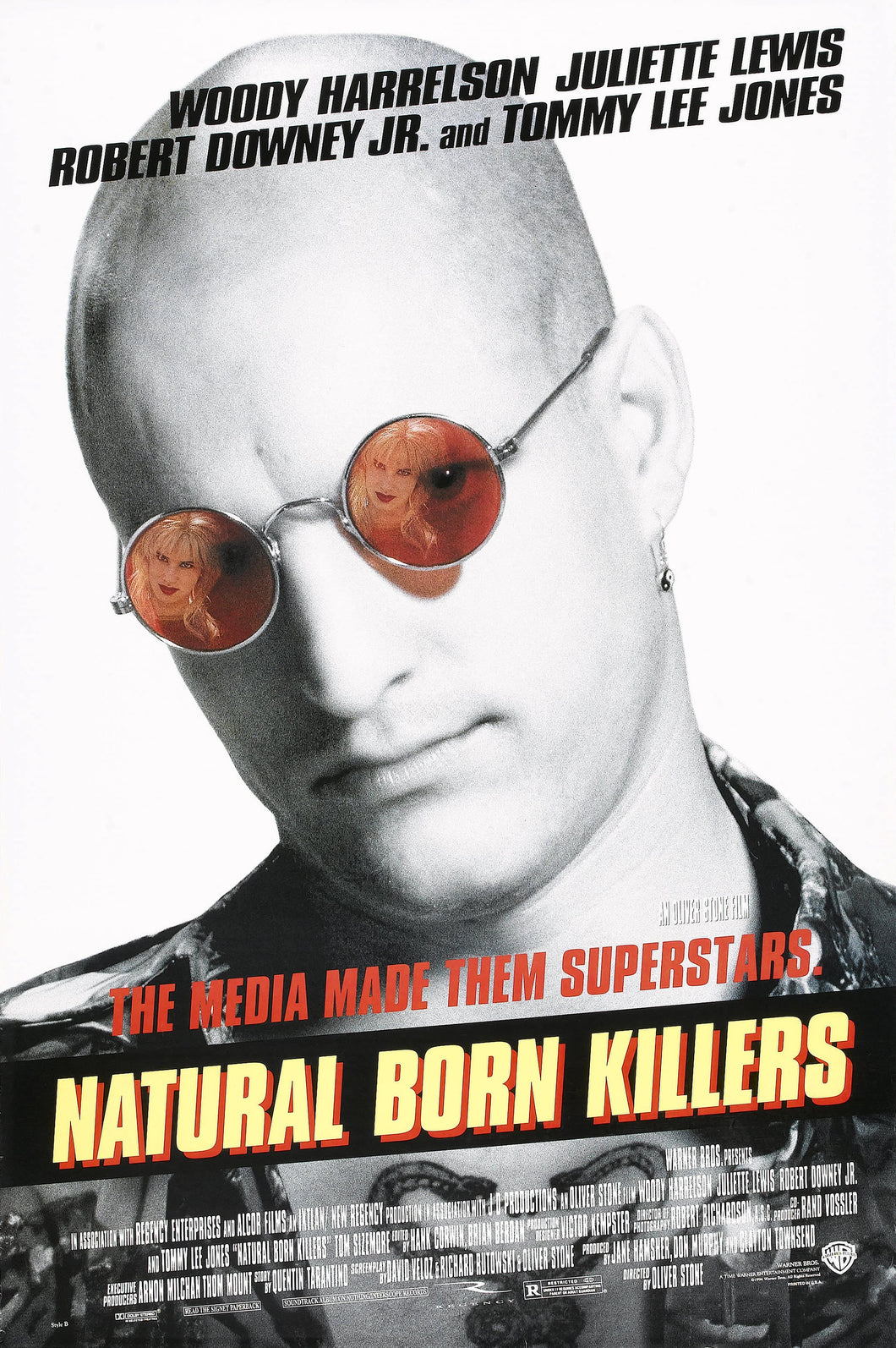 Poster Película Natural Born Killers