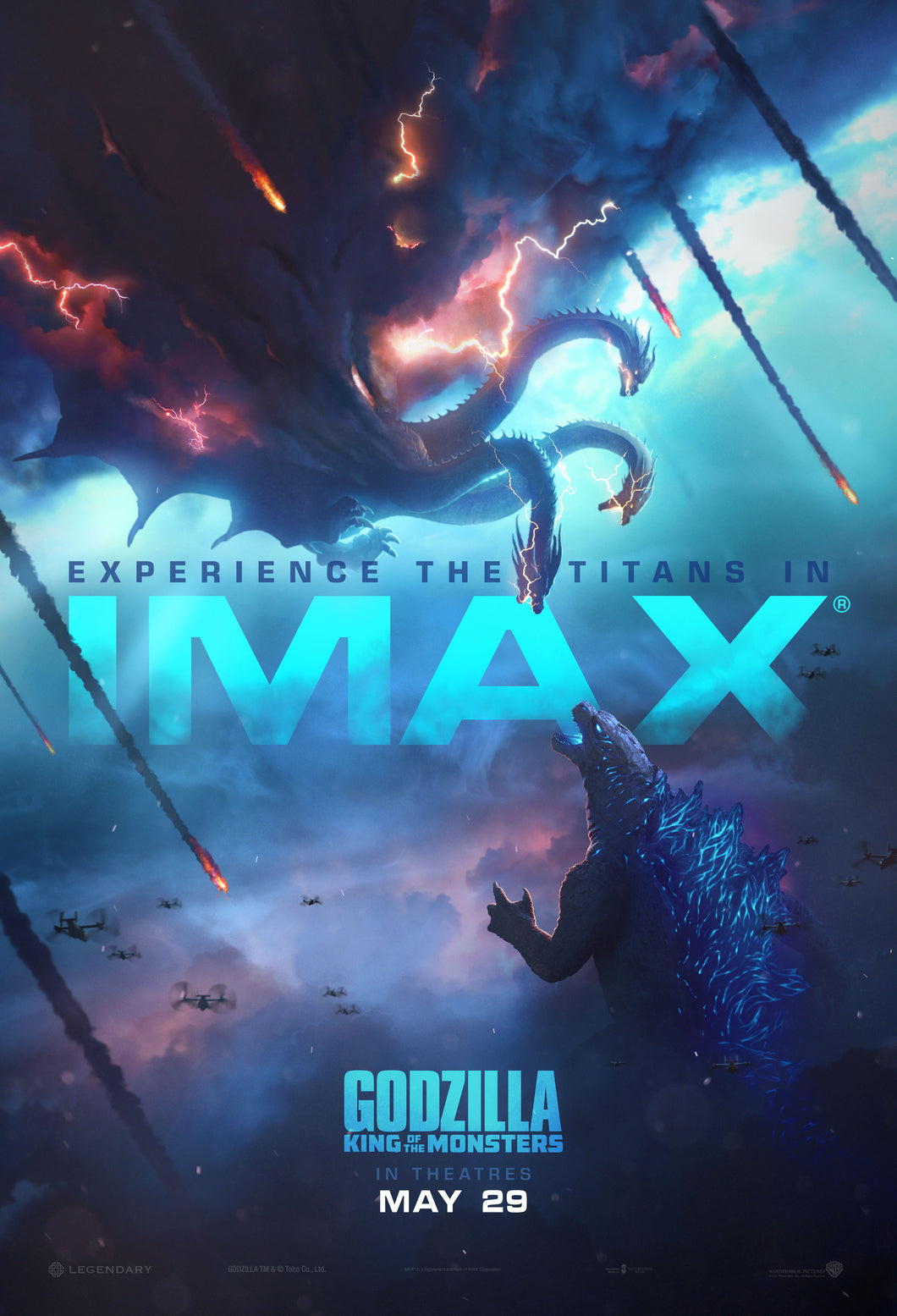 Poster Pelicula Godzilla: King of the Monsters 10