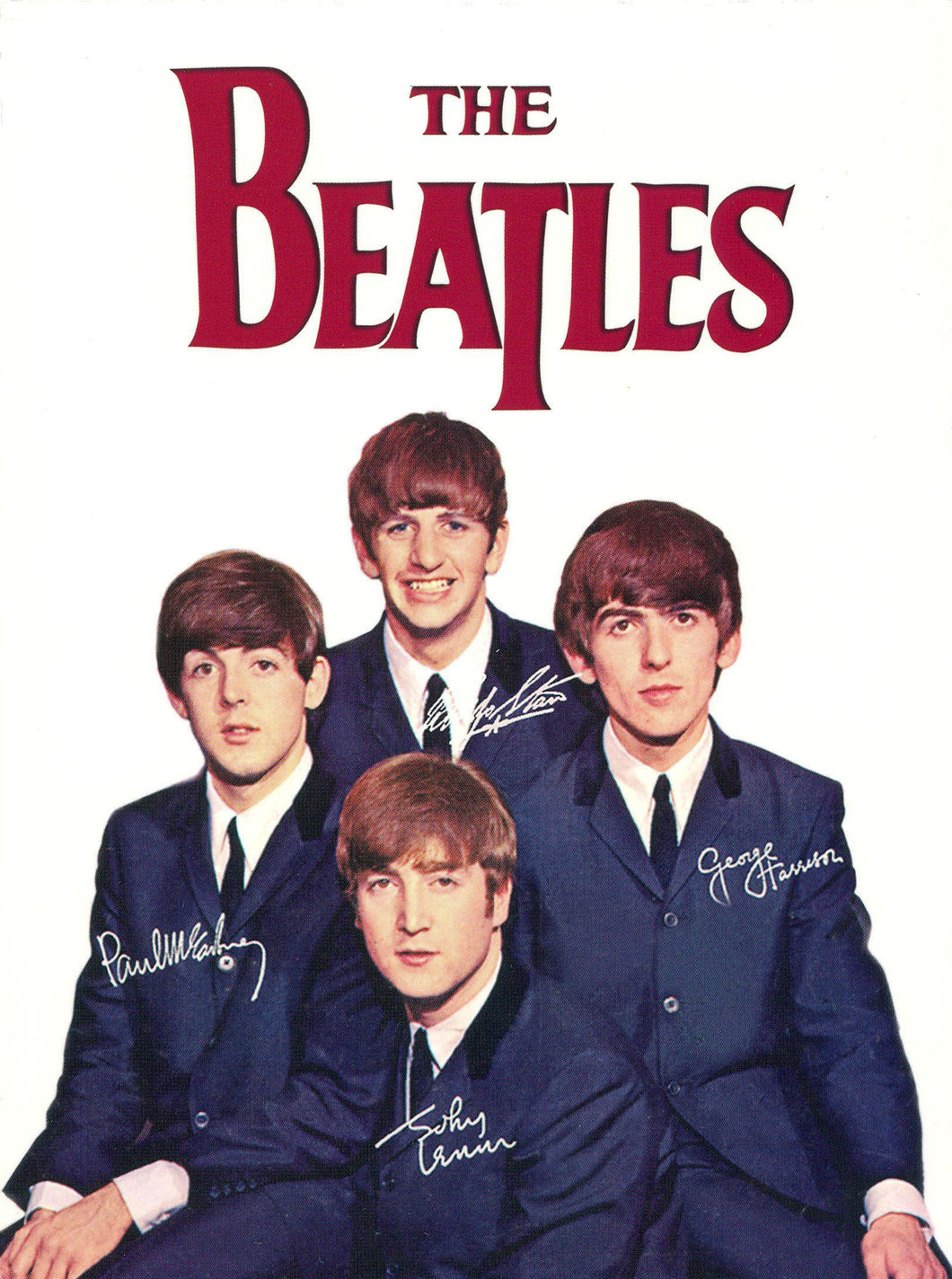 Poster de Banda The Beatles 9