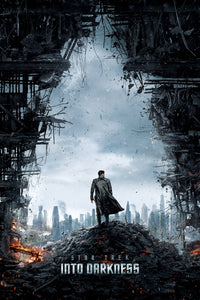 Poster Película Star Trek Into Darkness 23