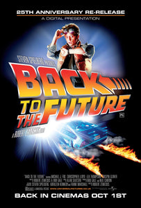 Poster Pelicula Back to the Future