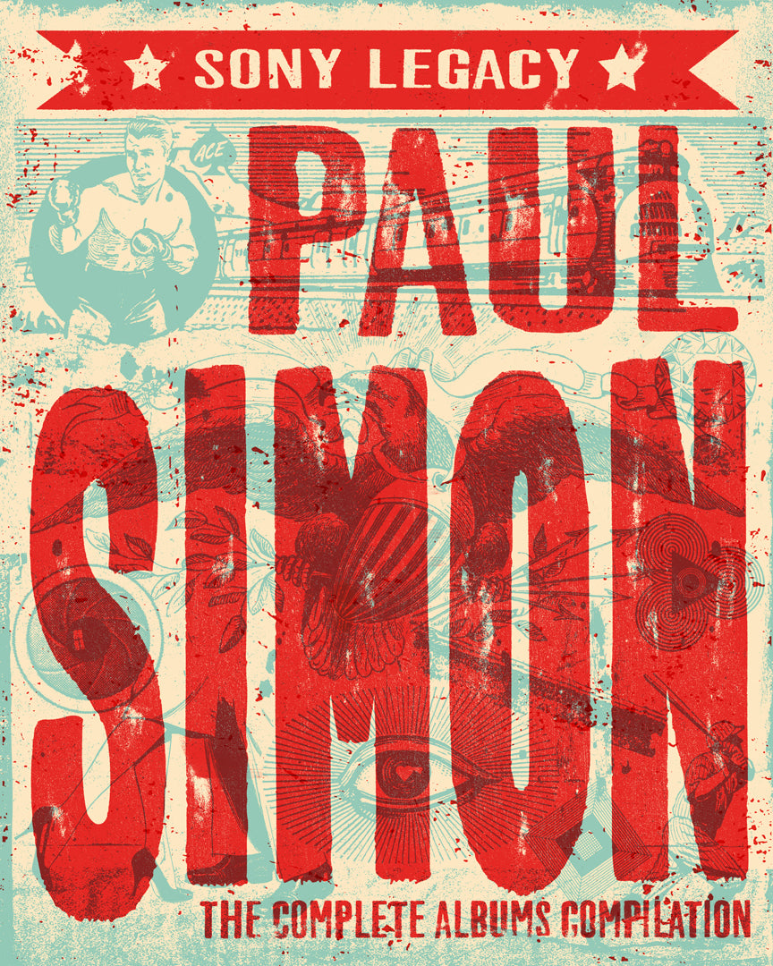 Poster Paul Simon 6