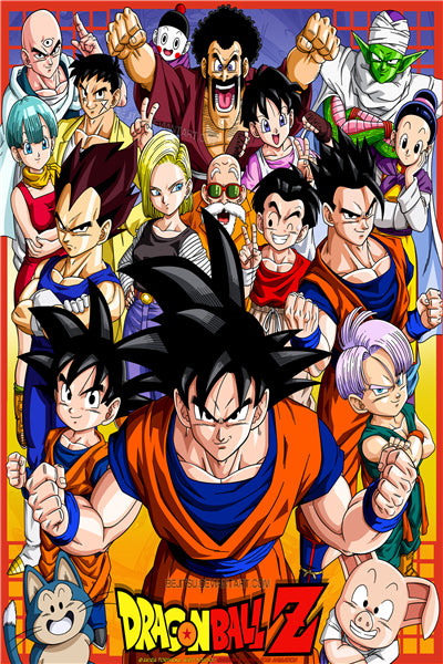 Poster Anime Dragon Ball 3