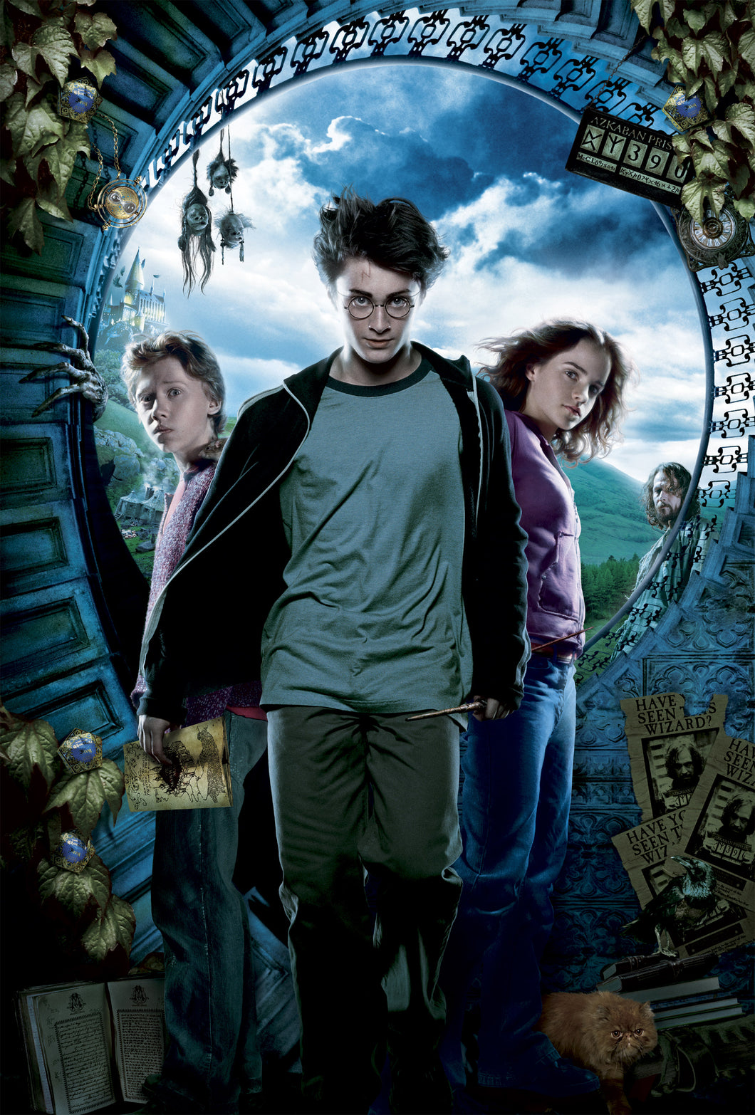 Poster Pelicula Harry Potter and the Prisoner of Azkaban
