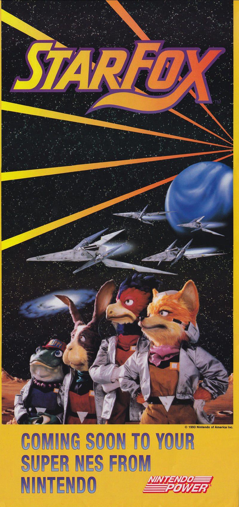 Poster Juego Star Fox 14
