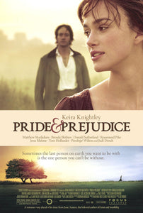 Poster Película Pride and Prejudice