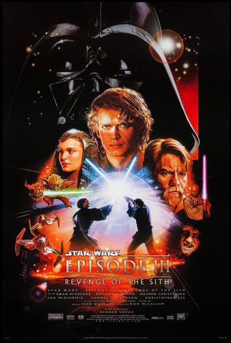 Poster Pelicula Star Wars Episode III: Revenge of the Sith