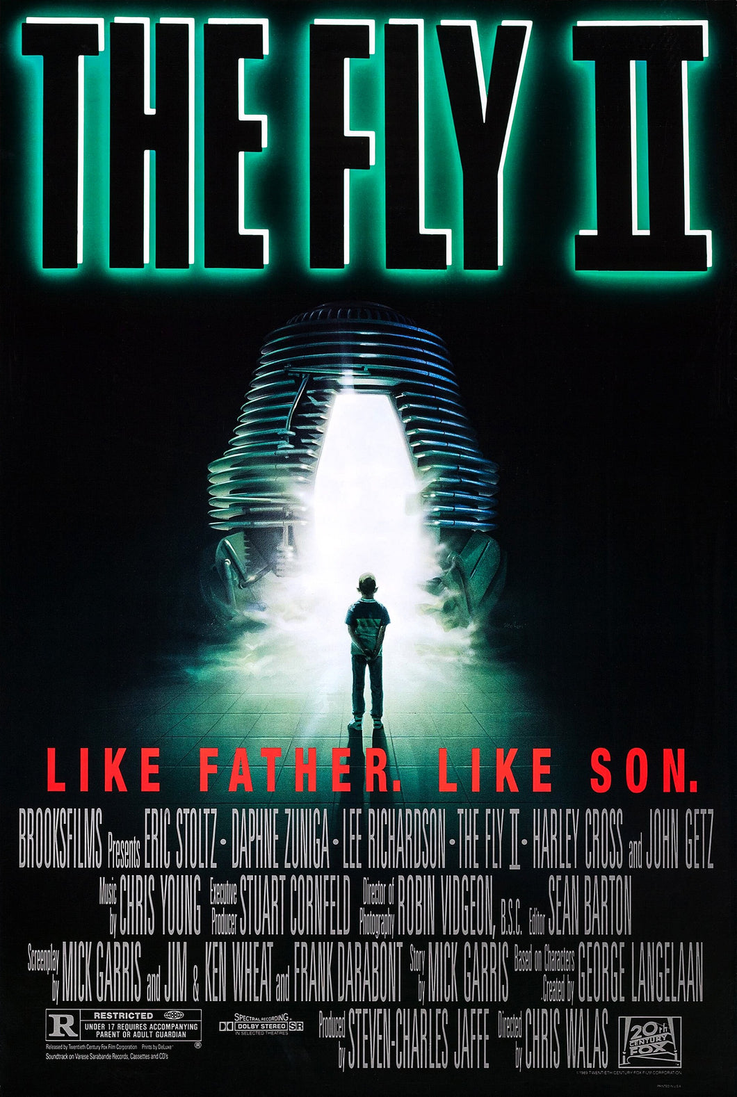 Poster Pelicula The Fly II