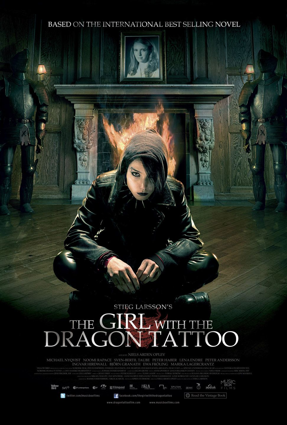 Poster Película The Girl with the Dragon Tattoo 2