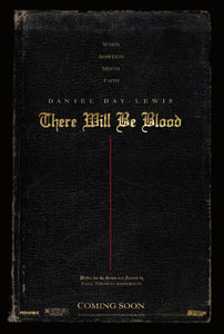 Poster Película There Will Be Blood