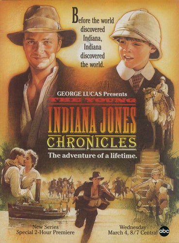 Poster Serie The Young Indiana Jones Chronicles